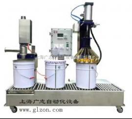 真石漆灌装机 半自动真石漆灌装机 膏液体灌装机