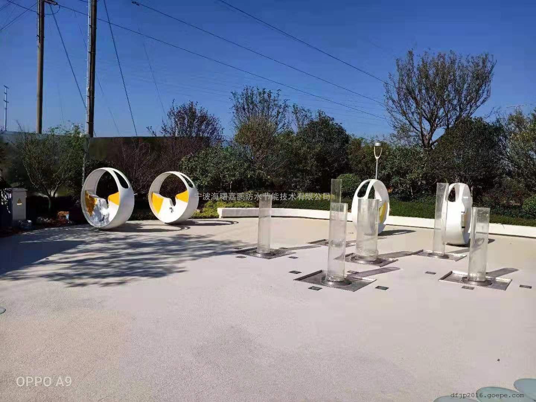 人体感应喷泉-人体感应喷雾设备-重力感应喷泉工程施工