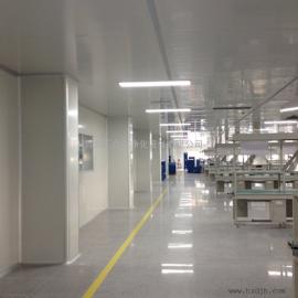 汇众达生产外科口罩厂房装修企业---HZD