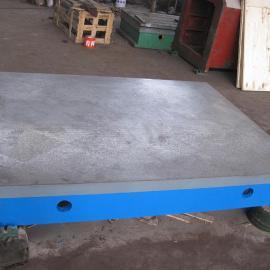 铸铁平台,铸铁落地镗床工作台生产厂家