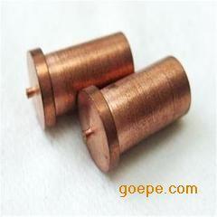 种焊螺柱 储能焊柱 焊接铆柱M3*9 铁镀铜焊接螺柱