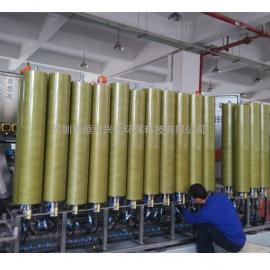 美guoPALL废shui浓缩二级DTRO反渗touxi统碟管式膜柱