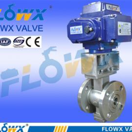 电动V型球阀 电动调节阀 QV941Y-10P