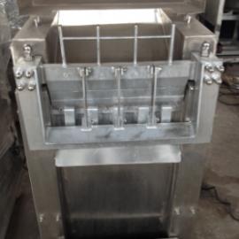 大型冻肉分割机 高效冻肉切块机