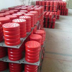 大量供应亚重JHQ-C-11聚氨酯缓冲器AG官方下载,缓冲力169Kn,板厚6厘米