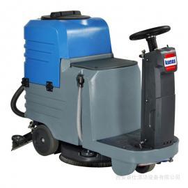 环氧地坪洗地机 环氧地面电瓶式全自动清洗机